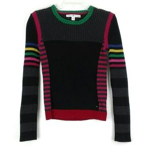 Tommy Hilfiger Sweater Multi Color Size Small